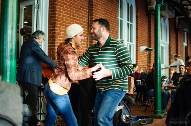 Dancers at Dean & DeLuca